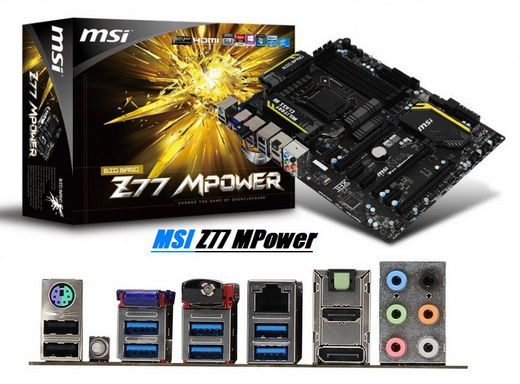 MSI Z77 MPower