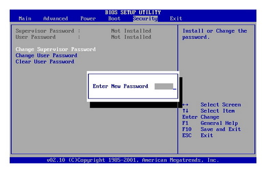 bios-password